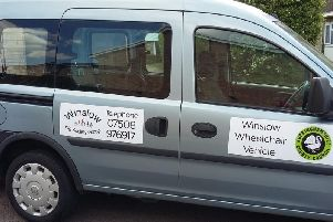 By an amazing coincidence, the charity were contacted the day after agreeing to pursue a wheelchair vehicle be someone trying to sell one!