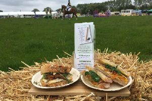 The launch of MINonlyne was celebrated at the Rockingham International Horse Trials and offered visitors a choice of two Northamptonshire sandwiches designed by the Head Chef at Silverstone Circuit Dean Hoddle.