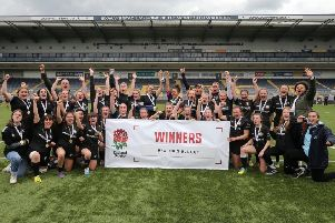 Pulborough under-18 girls have won the RFU National Cup