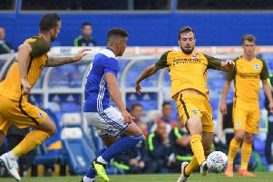 Brighton will once again visit Birmingham City. Picture courtesy of PW Sporting Photography.