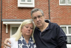 Shirley and Jonathan Price at their house in Hellingly (Photo by Jon Rigby) SUS-190530-093703008