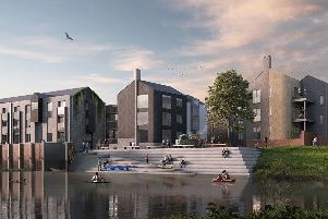 Artist's impressions of the North Street Quarter development