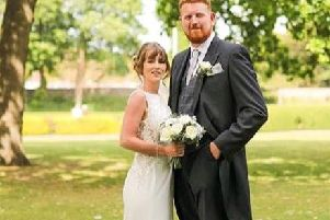 Jessica, 30, and Jack Rowley, 28, had just arrived at Chichester Harbour Hotel for their wedding reception on Thursday, May 23, when the bride realised she must have dropped the wedding gift en route from the ceremony at the Guildhall in Priory Park.