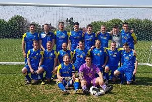 Rustington's title-winning team from last season