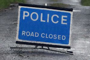 The A1 has been closed following an RTC.