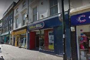 William Hill in Terminus Road, Eastbourne, is one of many East Sussex shops that could be at risk. Picture: Google Street View