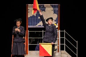 Rachel Benson and Elizabeth Robin - Mikron Theatre - All Hands On Deck - Credit Peter Boyd