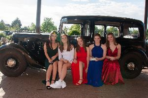 Lewes Priory School's prom at the East Sussex National Hotel, in Uckfield.