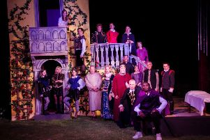 EODS presents Romeo and Juliet at the Italian Gardens in Holywell, Picture by Tom Lynn