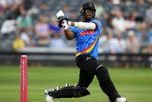Delray Rawlins hits out / Picture by Getty Images