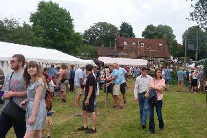The Cowbeech Village Show and Fete supports local causes