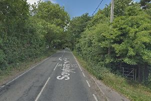 The crash happened on the A337. Picture: Google Maps