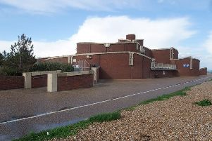 The wastewater treatment works in Eastbourne