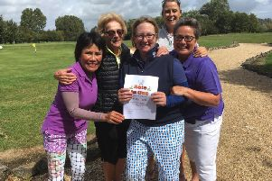 Chichester ladies' hole in one heroes