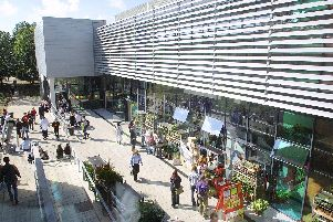UoP University of Portsmouth exterior and interior gv