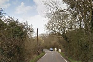 The collision happened in Folders Lane East, Ditchling. Picture: Google Street View