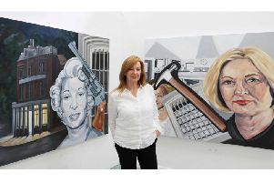 Paula La Baigue is using her art to draw attention to women who were jailed for murdering violent men.