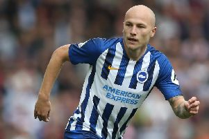 Brighton & Hove Albion midfielder Aaron Mooy. Picture courtesy of Getty Images