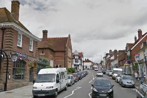 The attack happened in Uckfield High Street. Picture: Google Street View