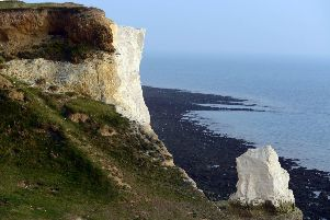 Seaford Head cliffs