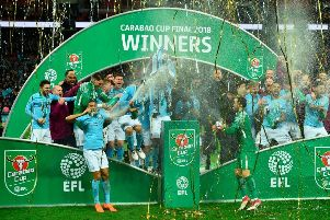 Manchester City are the Carabao Cup holders (Getty)