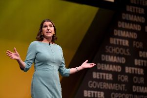 Liberal Democrat leader, Jo Swinson   (Photo by Finnbarr Webster/Getty Images) 775406950