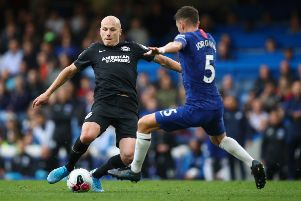 Aaron Mooy in action against Chelsea (getty)