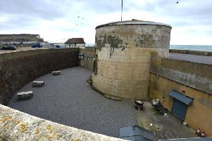 Martello Tower in Seaford. Photo by Peter Cripps