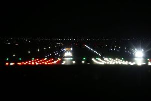 Gatwick Airport's runway was shut down just days before Christmas last year