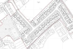 Plans for the proposed housing.