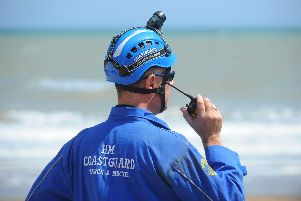 HM Coastguard were called to the scene at Birling Gap