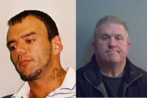 George Powell and Simon Wicks. Photo courtesy of the police SUS-191126-143606001