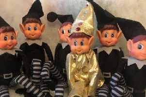 Can you find the naughty shiny elf, Bo Jingles?