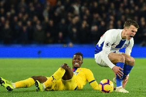 Brighton and Hove Albion vs Crystal Palace is often a fiercely contested affair