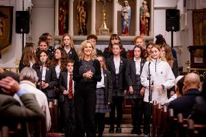 Well loved singing teacher Rachael Monroe said goodbye to students past and present as she moved on to greener pastures