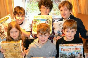 Thame Board Game charity day