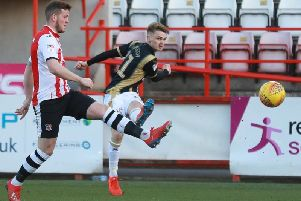 Jake Hesketh on his Dons debut