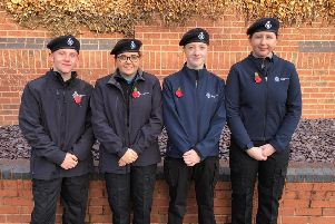 Members of Melton's police cadet unit who helped at the town's Remembrance parade event last year EMN-190702-103631001