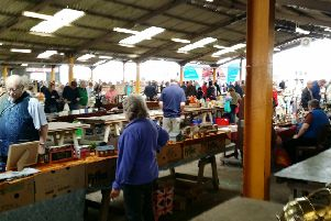 Stallholders at Melton Mowbray Livestock Market PHOTO: Supplied