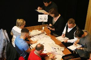 The counting of votes is expected to continue into tomorrow.