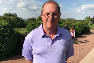 Graham Smith will be one of three Elsham GC members competing in the English Seniors Open Amateur Championship. Picture: Peter Thompson EMN-190524-094700002