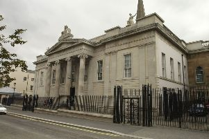 The courthouse at Bishop Street, Derry.