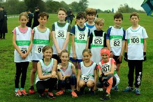 Some of the Chichester juniors on duty at Goodwood / Picture by Kate Shemilt