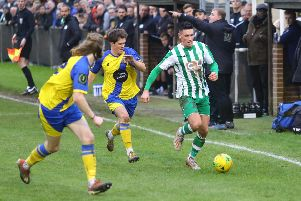 Chichester look for a breakthrough against Sittingbourne / Picture by Jordan Colborne