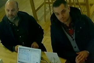 Police want to speak to these two men