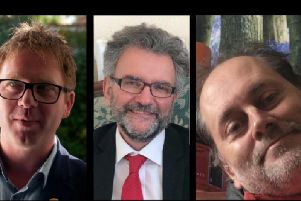 Nick Perry, Peter Chowney and Paul Crosland
