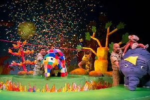 Elmer the Patchwork Elephant Show takes to the stage this month