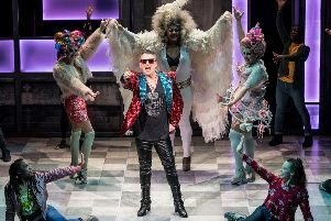 Shane Richie (Hugo) in Everybody's Talking About Jamie. Photo Johan Persson.