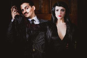Morticia and Gomez Addams