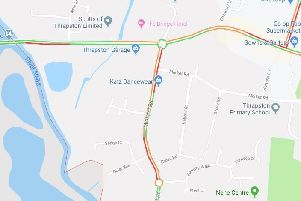 Traffic systems are showing delays around Midland Road NNL-190524-150807005